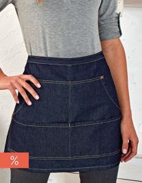 Jeans Stitch Denim Waist Apron